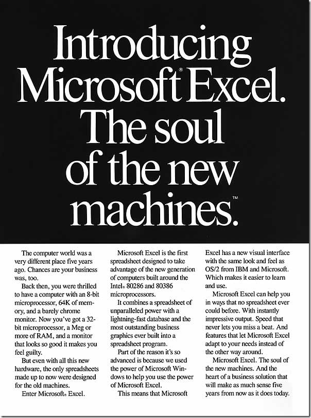 Early computer, PC and software ads - thatwasfunny.com